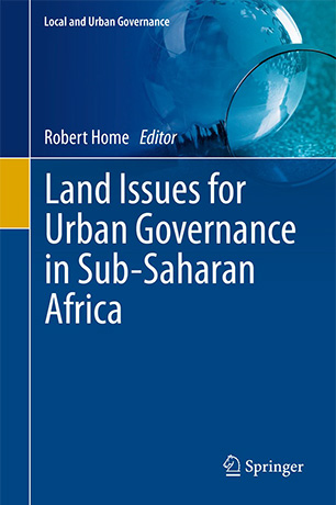 Land Issues for Urban Governance in Sub-Saharan Africa